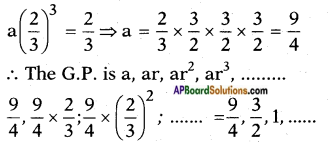 AP SSC 10th Class Maths Solutions Chapter 6 Progressions Ex 6.5 9