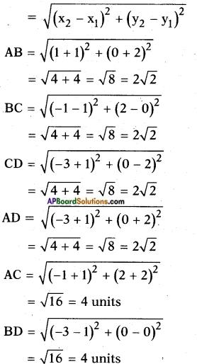 AP SSC 10th Class Maths Solutions Chapter 7 Coordinate Geometry Ex 7.1 12