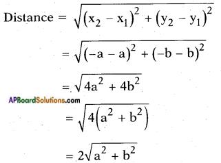 AP SSC 10th Class Maths Solutions Chapter 7 Coordinate Geometry Ex 7.1 2