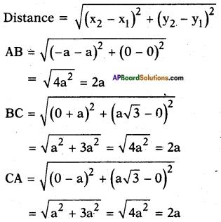 AP SSC 10th Class Maths Solutions Chapter 7 Coordinate Geometry Ex 7.1 8