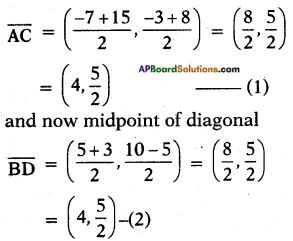AP SSC 10th Class Maths Solutions Chapter 7 Coordinate Geometry Ex 7.1 9