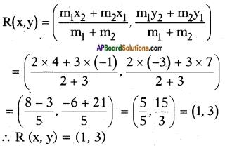 AP SSC 10th Class Maths Solutions Chapter 7 Coordinate Geometry Ex 7.2 1