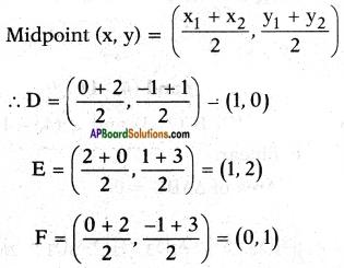 AP SSC 10th Class Maths Solutions Chapter 7 Coordinate Geometry Ex 7.3 3