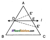 AP SSC 10th Class Maths Solutions Chapter 8 Similar Triangles Ex 8.1 6