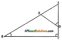 AP SSC 10th Class Maths Solutions Chapter 8 Similar Triangles Ex 8.2 1