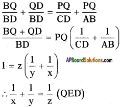 AP SSC 10th Class Maths Solutions Chapter 8 Similar Triangles Ex 8.2 10
