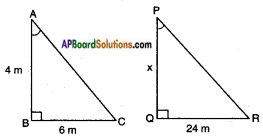 AP SSC 10th Class Maths Solutions Chapter 8 Similar Triangles Ex 8.2 11