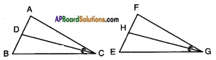 AP SSC 10th Class Maths Solutions Chapter 8 Similar Triangles Ex 8.2 12