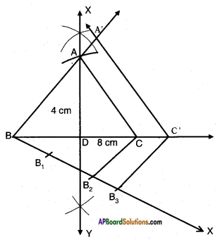 AP SSC 10th Class Maths Solutions Chapter 8 Similar Triangles Ex 8.2 16