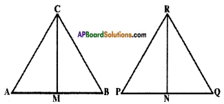 AP SSC 10th Class Maths Solutions Chapter 8 Similar Triangles Ex 8.2 5