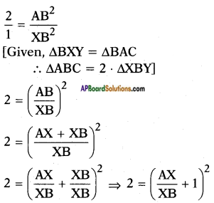 AP SSC 10th Class Maths Solutions Chapter 8 Similar Triangles Ex 8.3 7