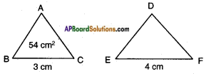AP SSC 10th Class Maths Solutions Chapter 8 Similar Triangles Ex 8.3 9