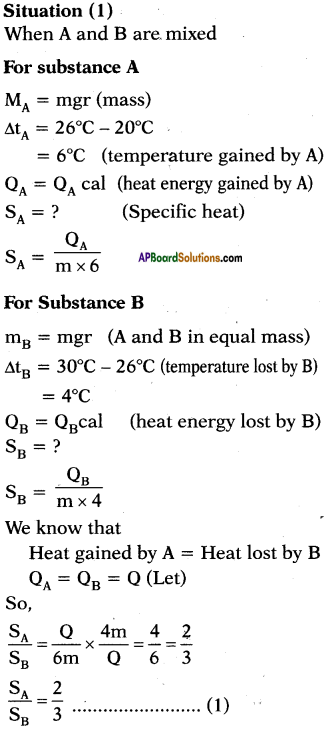 AP SSC 10th Class Physics Important Questions Chapter 1 Heat 17