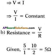 AP SSC 10th Class Physics Important Questions Chapter 11 Electric Current 26