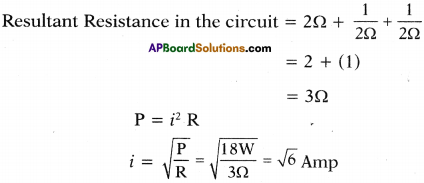 AP SSC 10th Class Physics Important Questions Chapter 11 Electric Current 3