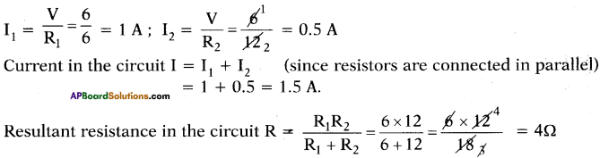 AP SSC 10th Class Physics Important Questions Chapter 11 Electric Current 42