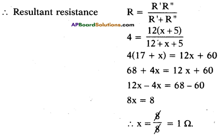 AP SSC 10th Class Physics Important Questions Chapter 11 Electric Current 50