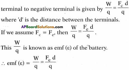 AP SSC 10th Class Physics Important Questions Chapter 11 Electric Current 60