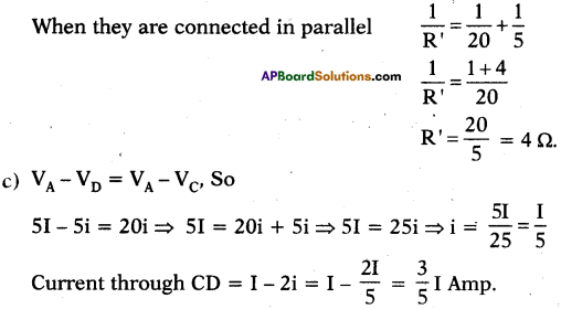 AP SSC 10th Class Physics Important Questions Chapter 11 Electric Current 75