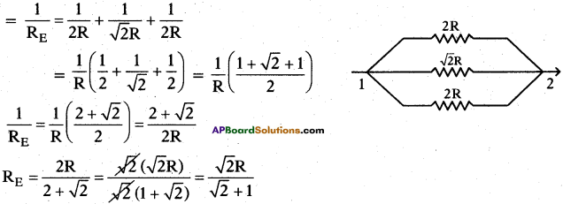 AP SSC 10th Class Physics Important Questions Chapter 11 Electric Current 85