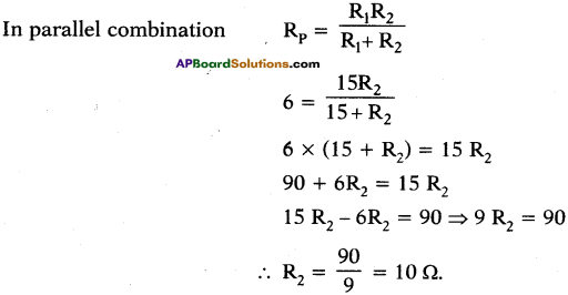 AP SSC 10th Class Physics Important Questions Chapter 11 Electric Current 94