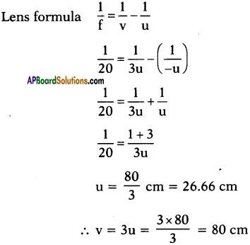 AP SSC 10th Class Physics Important Questions Chapter 6 Refraction of Light at Curved Surfaces 86