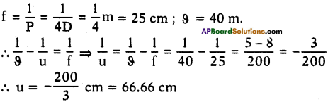 AP SSC 10th Class Physics Important Questions Chapter 7 Human Eye and Colourful World 16