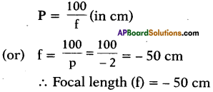 AP SSC 10th Class Physics Important Questions Chapter 7 Human Eye and Colourful World 7