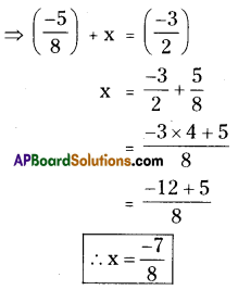 AP Board 8th Class Maths Solutions Chapter 1 Rational Numbers Ex 1.1 11