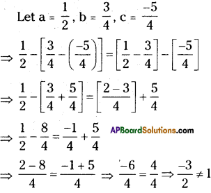 AP Board 8th Class Maths Solutions Chapter 1 Rational Numbers Ex 1.1 12