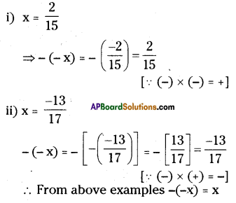 AP Board 8th Class Maths Solutions Chapter 1 Rational Numbers Ex 1.1 13