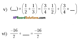 AP Board 8th Class Maths Solutions Chapter 1 Rational Numbers Ex 1.1 5