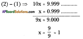 AP Board 8th Class Maths Solutions Chapter 1 Rational Numbers InText Questions 15
