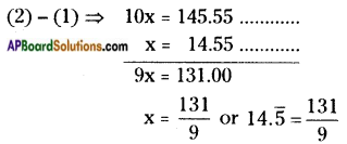 AP Board 8th Class Maths Solutions Chapter 1 Rational Numbers InText Questions 16