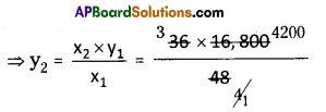 AP Board 8th Class Maths Solutions Chapter 10 Direct and Inverse Proportions Ex 10.1 5