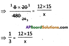 AP Board 8th Class Maths Solutions Chapter 10 Direct and Inverse Proportions Ex 10.4 2
