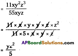 AP Board 8th Class Maths Solutions Chapter 12 Factorisation Ex 12.3 3
