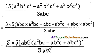AP Board 8th Class Maths Solutions Chapter 12 Factorisation Ex 12.3 9