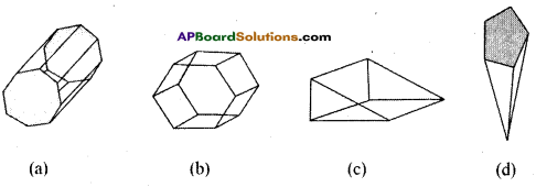 AP Board 8th Class Maths Solutions Chapter 13 Visualizing 3-D in 2-D Ex 13.2 8