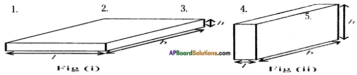AP Board 8th Class Maths Solutions Chapter 13 Visualizing 3-D in 2-D InText Questions 2