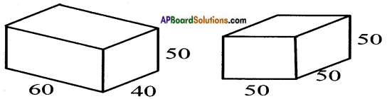 AP Board 8th Class Maths Solutions Chapter 13 Visualizing 3-D in 2-D InText Questions 4