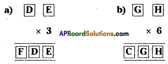 AP Board 8th Class Maths Solutions Chapter 15 Playing with Numbers Ex 15.5 3