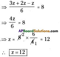 AP Board 8th Class Maths Solutions Chapter 2 Linear Equations in One Variable Ex 2.5 2