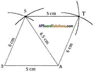 AP Board 8th Class Maths Solutions Chapter 3 Construction of Quadrilaterals Questions 12