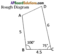 AP Board 8th Class Maths Solutions Chapter 3 Construction of Quadrilaterals Questions 18