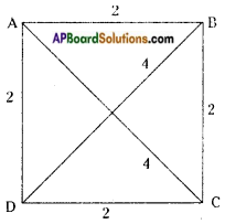 AP Board 8th Class Maths Solutions Chapter 3 Construction of Quadrilaterals Questions 21