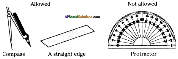 AP Board 8th Class Maths Solutions Chapter 3 Construction of Quadrilaterals Questions 3