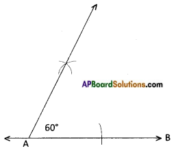 AP Board 8th Class Maths Solutions Chapter 3 Construction of Quadrilaterals Questions 4