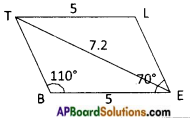 AP Board 8th Class Maths Solutions Chapter 3 Construction of Quadrilaterals Questions 5