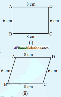 AP Board 8th Class Maths Solutions Chapter 3 Construction of Quadrilaterals Questions 7